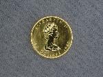 Lot: 4481 - 1983 1 OZ. GOLD CANADIAN MAPLE LEAF
