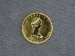 Lot: 4482 - 1983 1 OZ. GOLD CANADIAN MAPLE LEAF