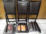 Lot: A6667 - Like-New Ashley Leather Dining Room Chairs
