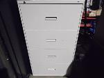Lot: A6673 - Hon 4-Drawer Metal Lateral File Cabinet