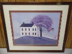 Lot: A6680 - American Folk Painting by Warren Kimble