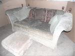 Lot: A6689 - Taylor King Luxury Sofa & Ottoman