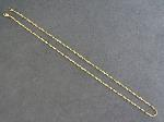 Lot: 4547 - 10K ROPE NECKLACE