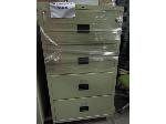 Lot: 51-073 - Hon 4-Drawer Fireproof Lateral File Cabinet