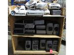 Lot: 51-075 - (24) Working Projectors Cart