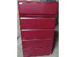 Lot: 51-094 - Knoll 5-Drawer Lateral File Cabinet