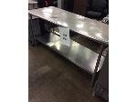 Lot: 5544 - Stainless Steel Table