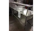 Lot: 5546 - Stainless Steel Table