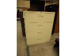 Lot: 2529 - Wide Filing Cabinet