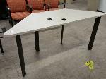 Lot: 2538 - Trapezoidal Table