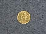 Lot: 4564 - 1882 $5 GOLD COIN
