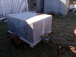 Lot: 226.CCB - METAL CONTAINER W/WHEELS