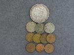 Lot: 4612 - 1887 MORGAN DOLLAR & FOREIGN COINS