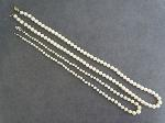 Lot: 4615 - PEARL LIKE BEADED NECKLACES