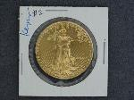 Lot: 4633 - 1986 1 OZ. FINE GOLD $50 COIN