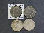 Lot: 4640 - 1922 PEACE & (3) EISENHOWER DOLLARS