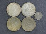 Lot: 4646 - (2) 1921 MORGAN & (2) EISENHOWER DOLLARS