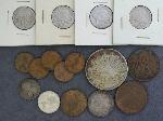 Lot: 4653 - BUFFALO NICKELS, WHEAT PENNIES & FOREIGN COINS