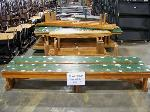 Lot: 116 - (12) 6-ft WOODEN BENCHES