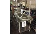 Lot: 5567 - Stainless Table W/Overhead Rack