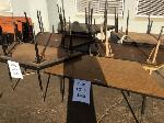 Lot: 5568 - (11) Trapezoid Tables