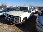 Lot: 22-116063 - 1999 Chevrolet Tahoe SUV