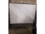 Lot: 31.PU - Projector Screen<BR><span style=color:red>NEW CLOSING DATE!</span>
