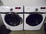 Lot: A6704 - Working Samsung VRT Steam Washer Dryer Set