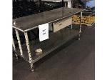 Lot: 5594 - Stainless Steel Table