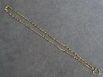 Lot: 4718 - 14K NECKLACE WITH 10K HEART PENDANT