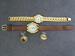 Lot: 4836 - 10K & 14K RINGS & WATCHES