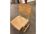 Lot: 35 - (8) Cafeteria Chairs