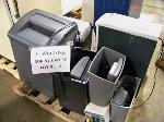 Lot: 318 - (8) ASSORTED SHREDDERS
