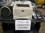 Lot: 368 - FAX MACHINE, SPEAKERS, CALCULATORS
