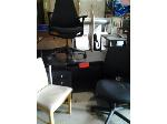 Lot: 012 - Desk & (3) Chairs
