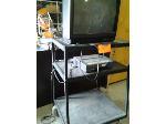 Lot: 017&18 - (3) TVs w/ stand