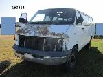 Lot: 150812 - 2000 DODGE RAM VAN 3500