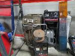 Lot: A14 - (2) Floor Jacks, ATF 200 CT Unit, Battery Charger, Solar Battery Charger, Propane Tank, Transmission Jack, Skye Refrigerant Recovery and Recycling unit, & MORE!
