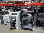Lot: C3 - GE Microwave, (2) Muratec 560 printers, overhead projector, 24