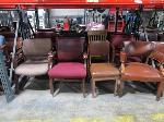 Lot: C12,13 - (16) Chairs, (21) Printers & (5) desks