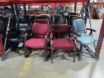 Lot: D12,13 - (17) Chairs, (6) desks