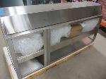 Lot: 07 - Food Display Case & Food Warmer
