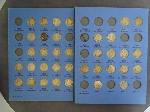 Lot: 5110 - ROOSEVELT DIME COLLECTION BOOK