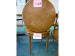 Lot: 69.UV - (4) UPHOLSTERED CHAIRS, (2) SIDE TABLES.