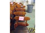 Lot: 71.UV - (2) ROUND TABLES, (12) FALCON CHAIRS