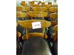 Lot: 72.UV - (2) ROUND TABLES, (10) FALCON CHAIRS