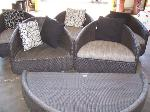 Lot: 18 - Patio furniture chairs and table