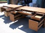 Lot: 21-23 - (5) Desks