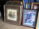 Lot: 24 - Multiple art works paintings and pictures