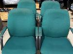 Lot: 29 - (4) Green Chairs